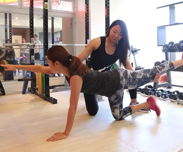 女性専用のパーソナルトレーニング