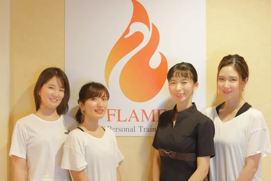 沖縄の女性トレーナーならパーソナルトレーニング フレイム